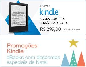 Novo Kindle: agora com tela sensível ao toque. Por R$ 299,00. Saiba mais. E veja todas as ofertas da Loja Kindle
