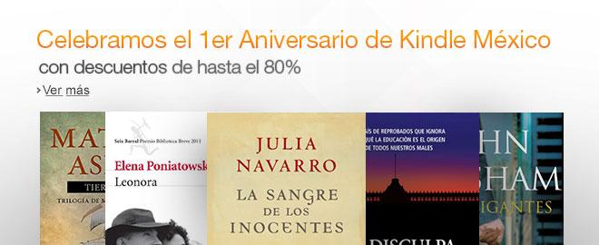 Aniversario Tienda Kindle