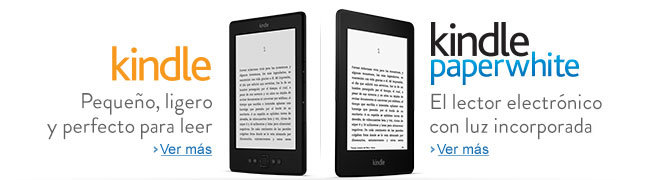 Kindle y Kindle Paperwhite