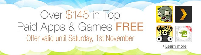 Over $145 in Top Paid Apps & Games FREE