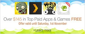 Over $145 in Top Paid Apps & Games FREE - Limited-time offer