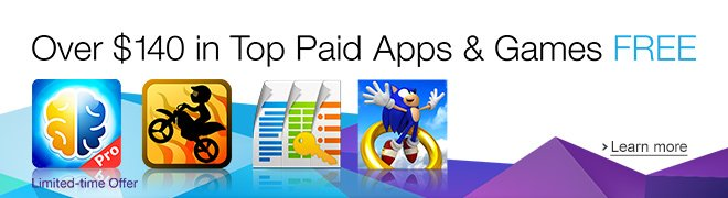 Amazon Appstore: Over $140 in Top Apps & Games FREE