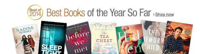 Kindle Best Books of the Year So Far
