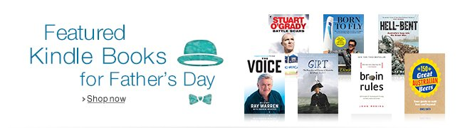 Featured Books for Father's Day