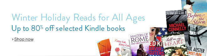 Winter Sale: Save up to 80% on Selected Kindle Books