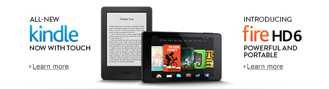 All-New Kindle and Fire HD 6