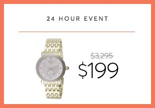 Deal of the Day : GV2 -Diamant-Uhr bei $ 199!