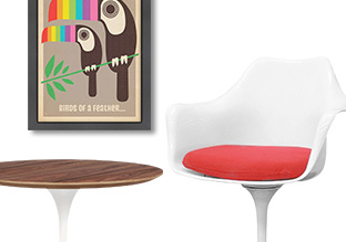 The Mod Loft: Art & Furniture!