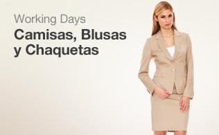 Working days: Camisas, blusas y chaquetas