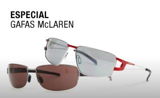 Especial gafas Mclaren