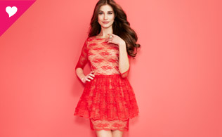 Color Story: Champagne & Strawberry Dresses!