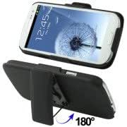 3 in 1 ((Five Gear Holder + Plastic Case + 180 Degree Rotatable Clip) for Samsung Galaxy SIII / i9300 (Black)