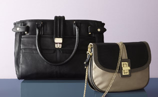 Colorblocking: Bags & Belts That Pop