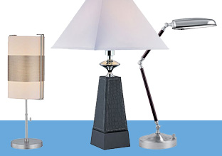 $59 & Up: Table Lamps!