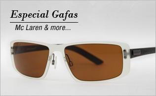 Especial gafas McLaren & more