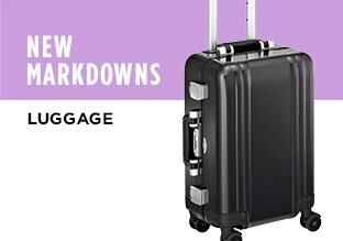 New Markdowns: Luggage!