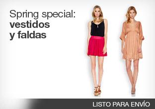 Spring special: vestidos y faldas!