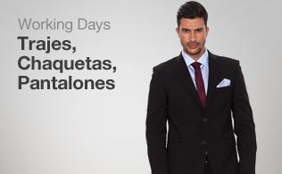 Working days: Trajes, chaquetas y pantalones