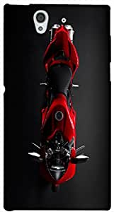Timpax protective Armor Hard Bumper Back Case Cover. Multicolor printed on 3 Dimensional case with latest & finest graphic design art. Compatible with Sony L36H - Sony 36 Design No : TDZ-26917