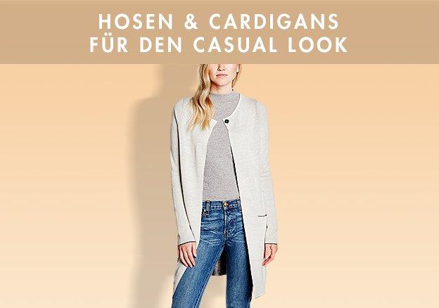 Hosen & Cardigans für den Casual Look