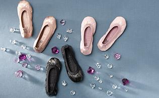 Yosi Samra Ballet Flats for Girls