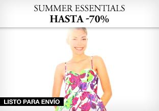 Last Minute Summer Essentials: hasta -70%