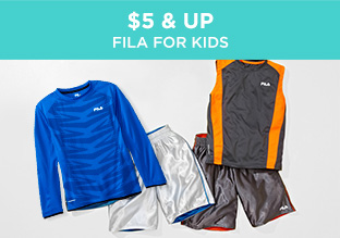 $5 & Up: Fila for Kids