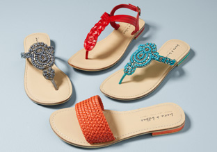 Spring Sandals: Thongs & Slides!