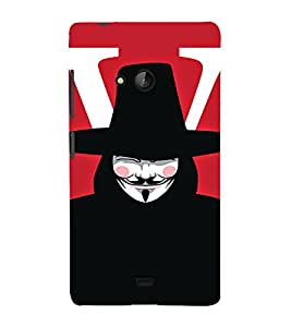 EPICCASE Vendetta Mobile Back Case Cover For Nokia Lumia 540 (Designer Case)