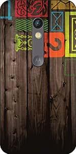 Go Hooked Designer Soft Back cover for Motorola Moto X Play + Free Mobile Stand (Assorted Design)