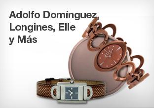 Longines, Adolfo Domínguez, Elle y Más!