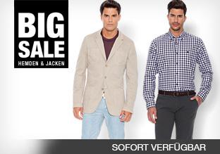 Big Sale: Hemden & Jacken