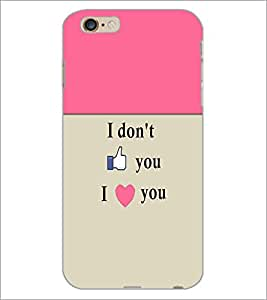 PrintDhaba Quote D-5967 Back Case Cover for APPLE IPHONE 6 (Multi-Coloured)