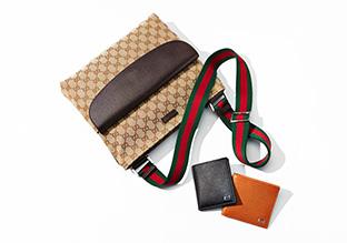 Designer borse 0026 accessori feat gucci voga italia for Portafoglio gucci leone