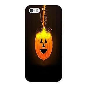 AJAYENTERPRISES Hollowin Mask Back Case Cover for iPhone SE