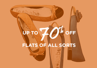 Up to 70% Off: Flats of All Sorts