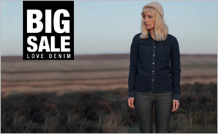 Big Sale: Love Denim!