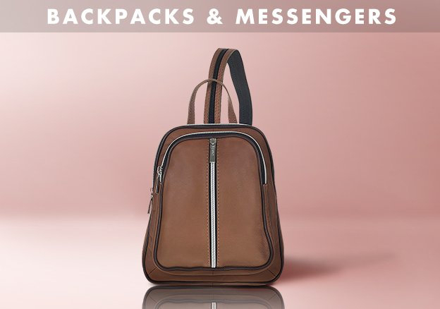 Backpacks & Messengers