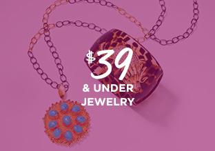 $39 & Under Jewelry