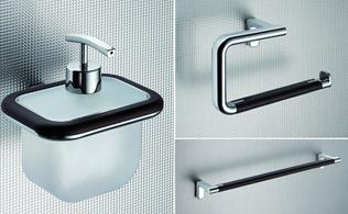 Sleek Bathroom Accessories!
