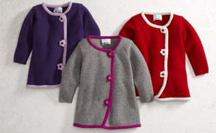 Bundle-up Baby: Snowsuits, Cardigans & More
