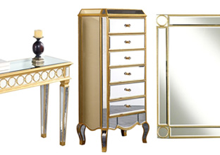 Reflect Great Style: Mirrored Furniture!