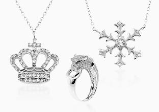 70 % di sconto gioielli Diamonere Sterling Silver!