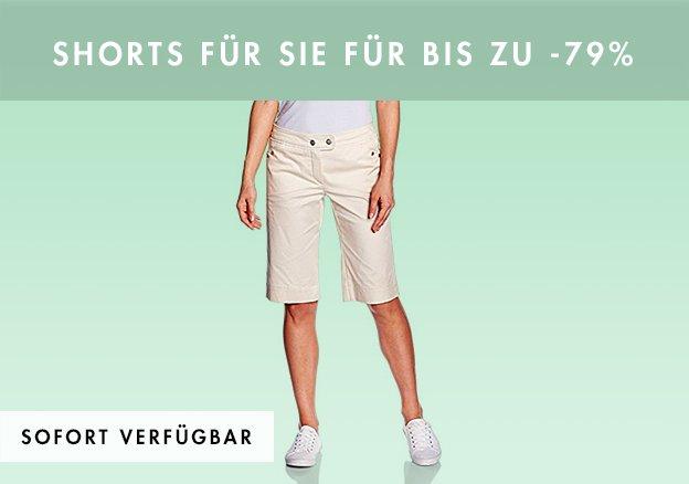 Shorts für Sie für bis zu -79%