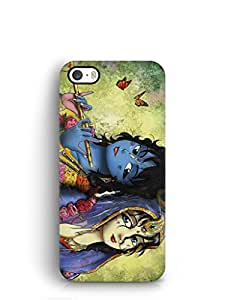 Cover Affair Lord Radha Krishna Printed Back Cover Case for Apple iPhone 5S