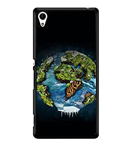 printtech Nature Planet Back Case Cover for Sony Xperia Z4 , Sony Xperia Z4 E6553