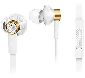 Estar 3.5mm jack earphone|| audio receiver With MIC ||Calling Function||Music receiver COMPATIBLE with LG Optimus L4 II Dual E445 - WHITE