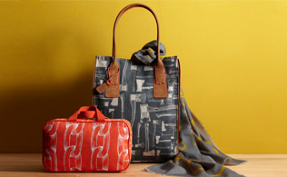 Loquita Bags and Scarves!
