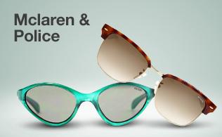 Mclaren & Police Sunglasses