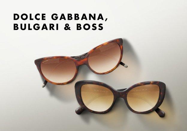 Dolce Gabbana, Bulgari & Boss